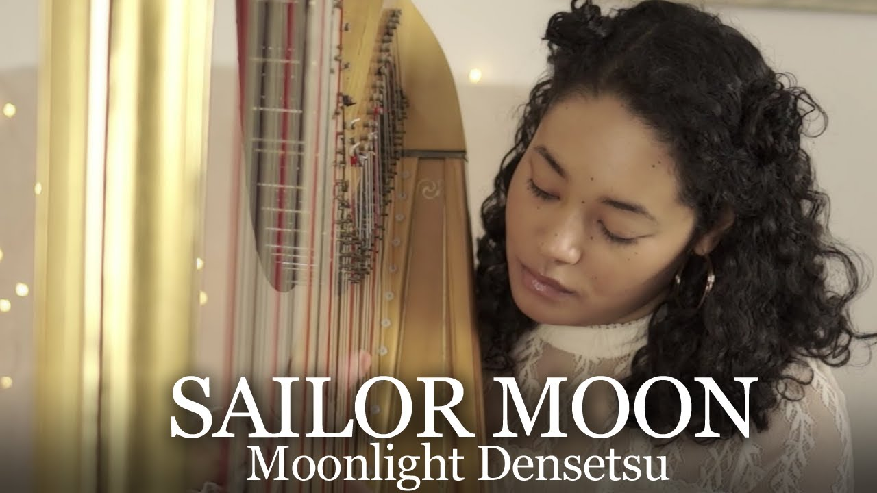 ~Harpsona~ Sailor Moon - Moonlight Densetsu / Star Locket Theme (Harp Cover)