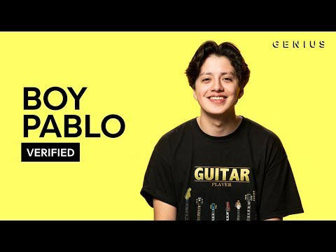 "Boy Pablo ""Sick Feeling"" Official Lyrics & Meaning 