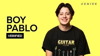 boy pablo Sick Feeling Official Lyrics & Meaning | Verified