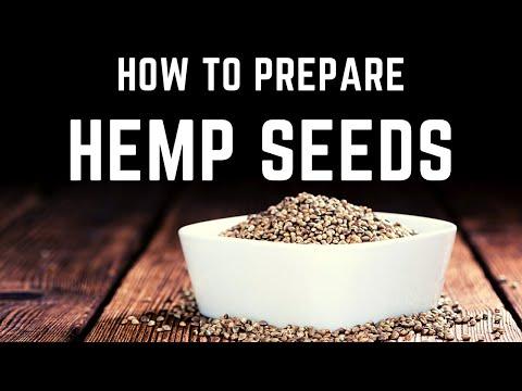 How To Prepare Hemp Seeds