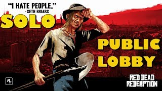 Red Dead Online *New*Easy*100%Solo How To Get A Solo Session In RDR2 Online