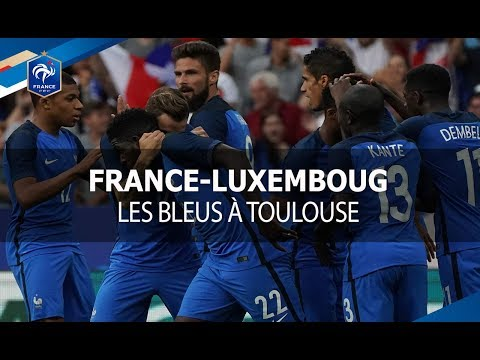 France - Luxembourg à Toulouse