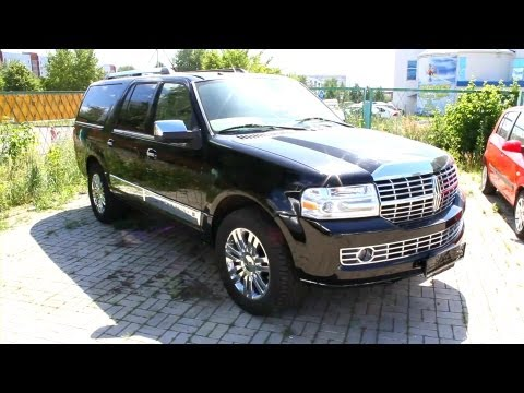 2007 Lincoln Navigator.Start Up, Engine, and In Depth Tour.