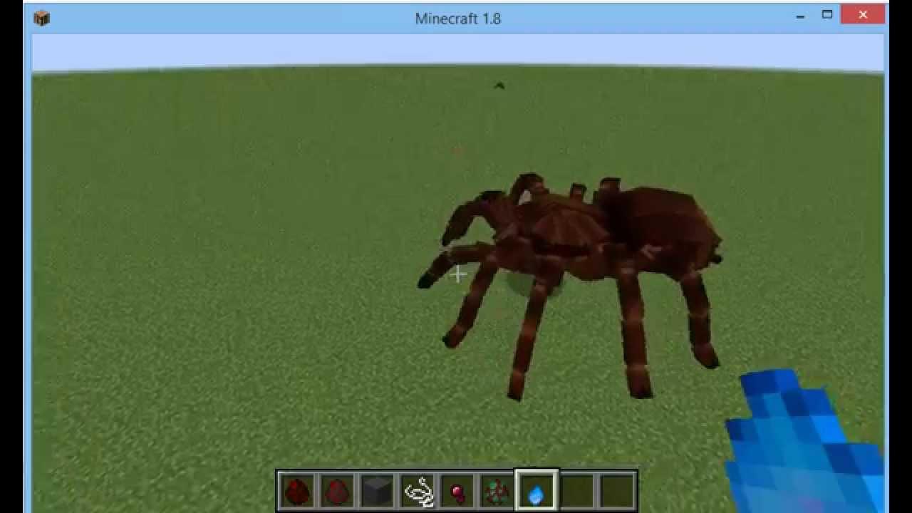 Minecraft Tarantula Youtube