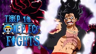 Top 10 Epic One Piece Anime Fights