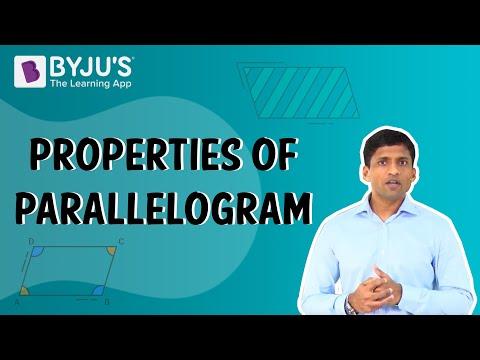Understanding Quadrilaterals 03 - Parallelogram Properties