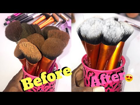 HOW TO: Clean Your Makeup Brushes | GERM-FREE​ BRUSHES | Easy & Cheap!