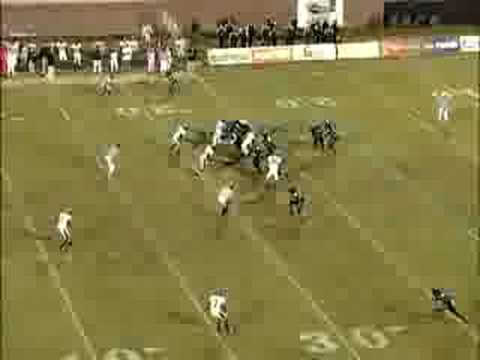 CCU 2007 Football Highlights