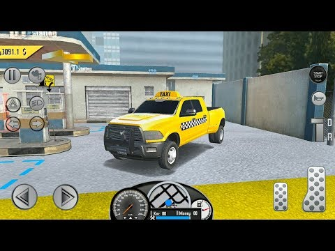 Real Taxi Sim 2018 Dodge Ram Truck Android Gameplay Fhd Youtube