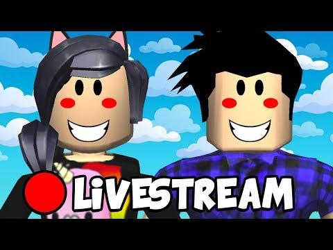 [Live] ROBLOX MURDER E MAIS! #LiveMarmota