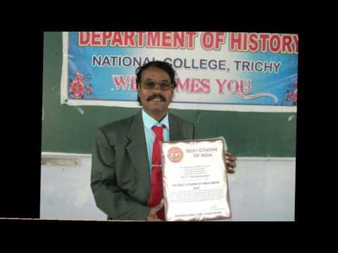 DR.P.PARIMALASEKAR AWARD VIDEO NATIONAL COLLEGE TRICHY