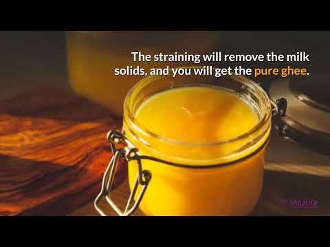 How to make ghee from cream? Know the step-by-step process