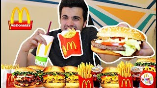 McDonald's Burger Eating Challenge
