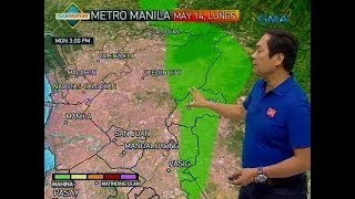 UB: Weather update as of 6:24 a.m. (May 14, 2018)