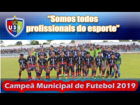 UDI Campeã Municipal de Futebol  2019 em Itiruçu
