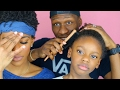 Father Does Daughter's Hair & FAILS COMPLETELY! (GONE WRONG)