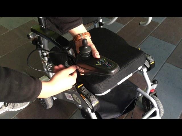 Libercar Mistral 7 silla de ruedas eléctrica plegable ultraligera de alquiler