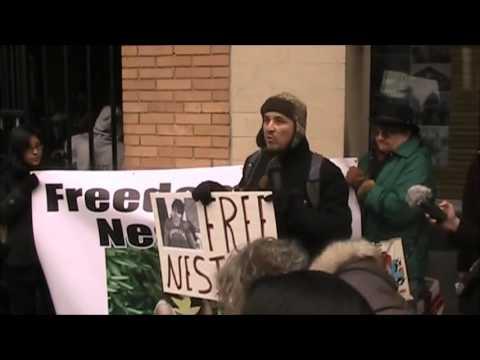 Nestora Salgado Protest Seattle