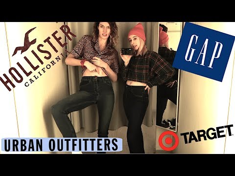 TRYING SAME SIZE JEANS IN 1O DIFFERENT STORES!