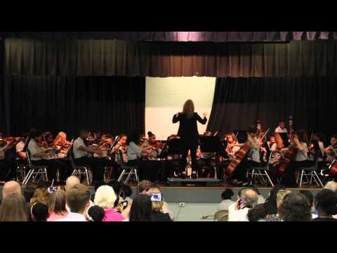 Lake Elkhorn Middle School Symphonic Orchestra - Deep River