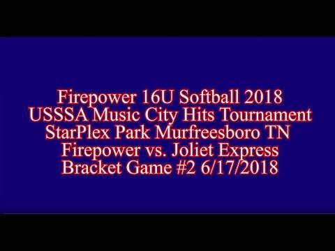 USSSA Music City Hits Firepower vs.  Joliet Express Bracket Game #2