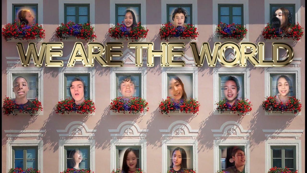 WE ARE THE WORLD | INTERNATIONAL CHILDREN COLLABORATION