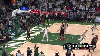 2nd Quarter, One Box Video: Milwaukee Bucks vs. Toronto Raptors
