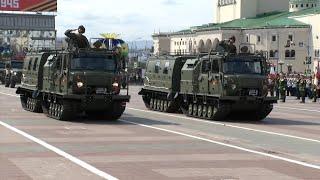 Парад Победы в Улан-Удэ