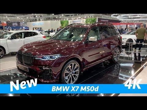 BMW X7 M50d 2019 - Tampilan Cepat Eksklusif Pertama Dalam 4K - Lebih Baik Dari Mercedes GLS?