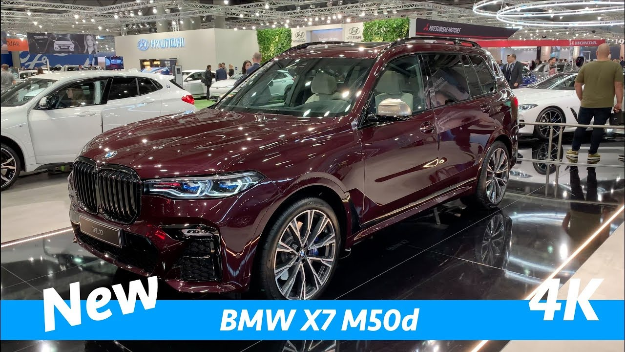 Bmw X7 M50d 2019 First Exclusive Quick Look In 4k