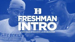 Freshman Intro: Javin DeLaurier
