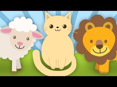 Sunetele animalelor – Cantece pentru copii in limba romana