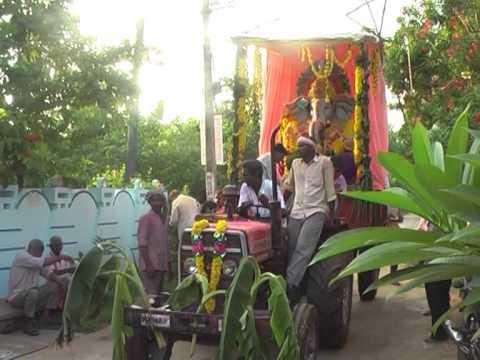 Sri Ganesh Nimajjanam at Ramanagaram on 15.09.2013 - Part -1