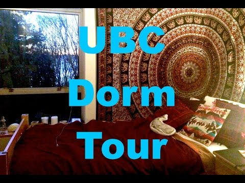 Dorm Room Tour - University of British Columbia (UBC)