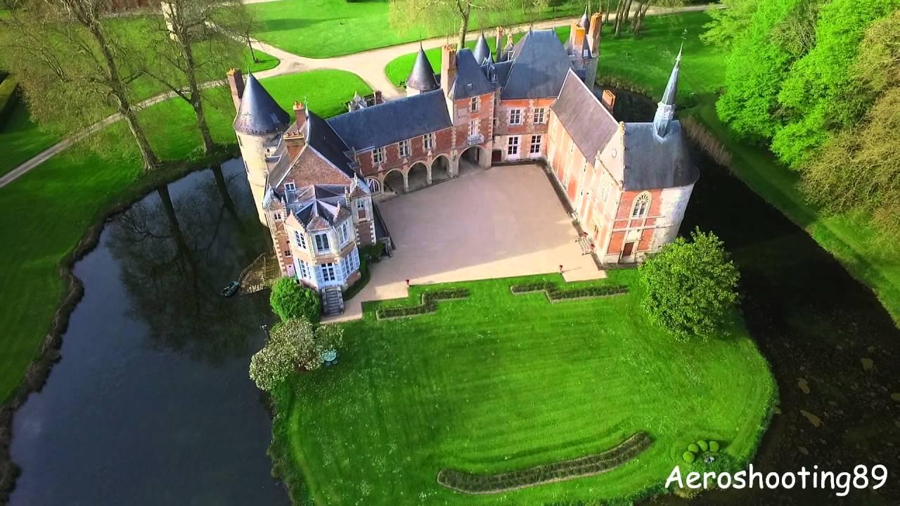 Châteaux fleurigny Yonne (89) By Aeroshooting 89 - YouTube
