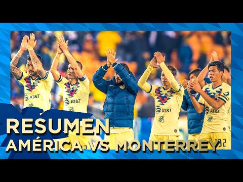 Resumen y goles | América 1-2 Monterrey | Houston | Tour Águila
