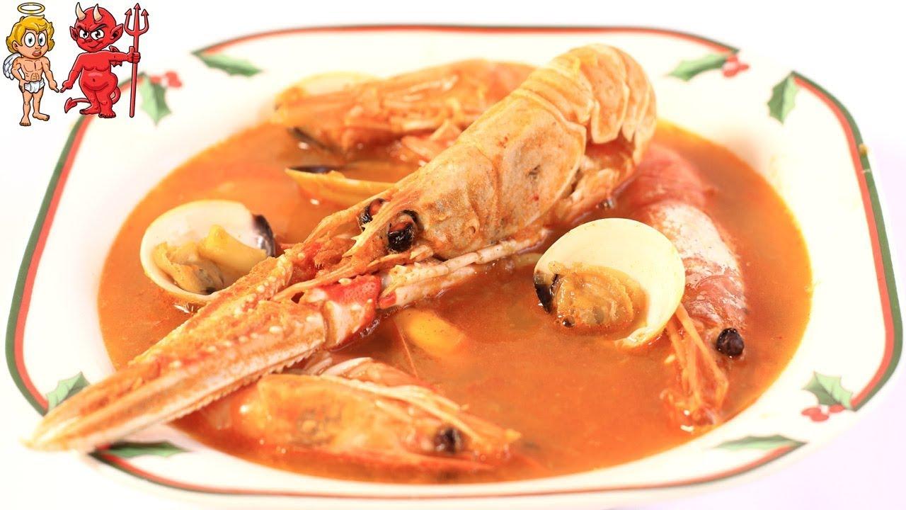 sopa de marisco para dieta
