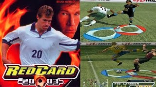 RedCard 20-03 - Hardcore Football Gameplay -PS2 HD
