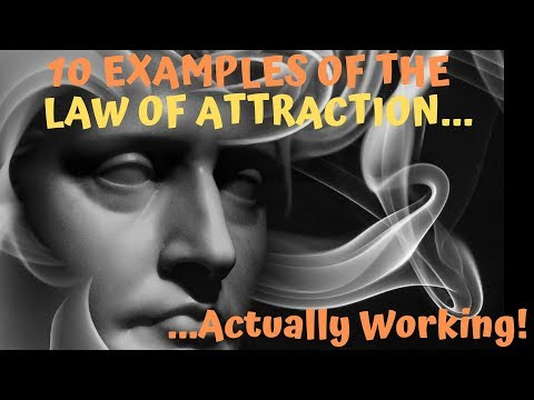 10 Examples of the Law of Attraction Actually Working...