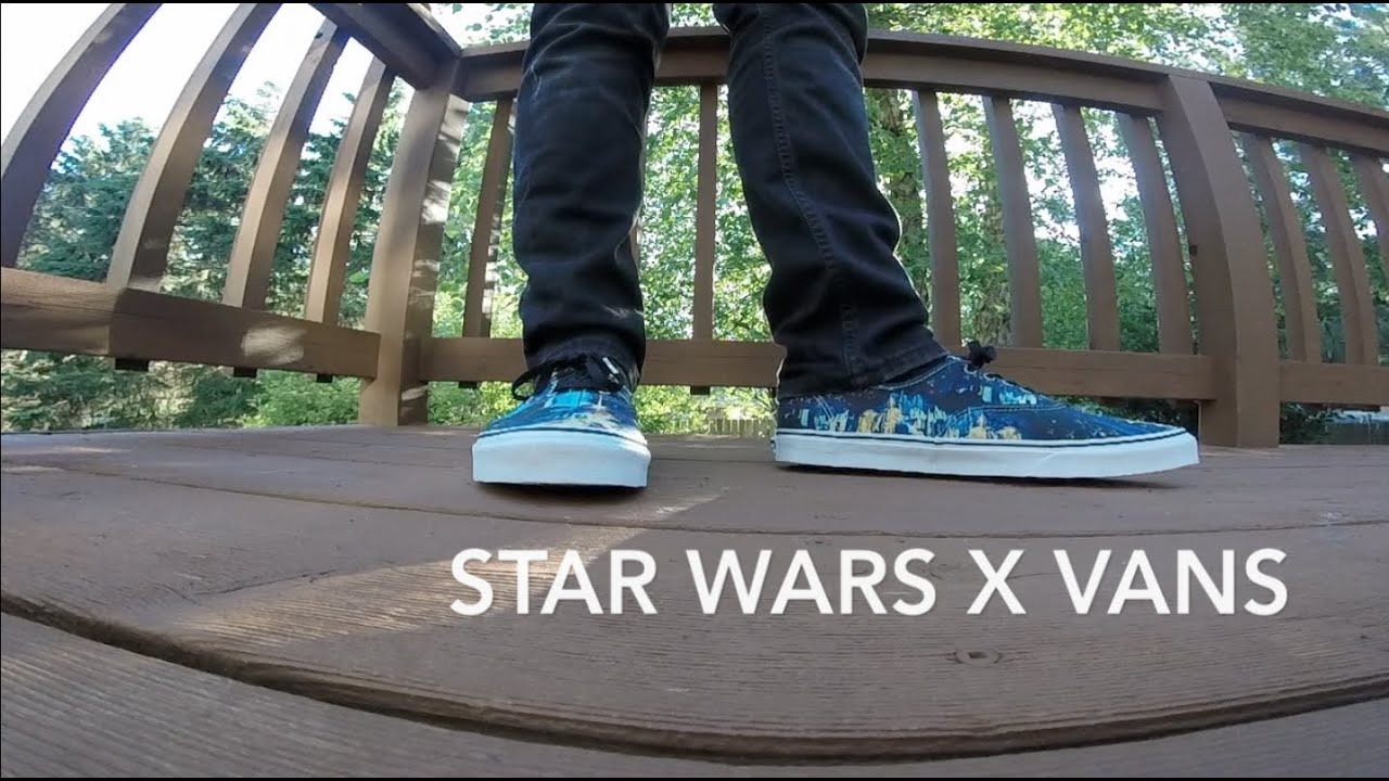 e13951b3a1 Vans X Star Wars