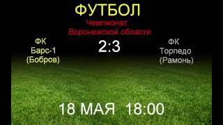 Барс-1 (Бобров) 2:3  Торпедо (Рамонь)