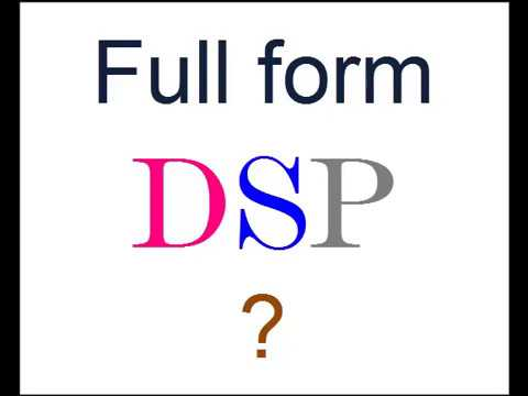 Full Form of DSP in Police (India) ? - YouTube
