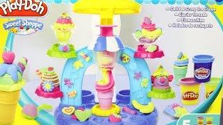 Swirl and Scoop Ice Cream Playset / Фабрика Мороженого - Sweet Shoppe - Play-Doh - B0306