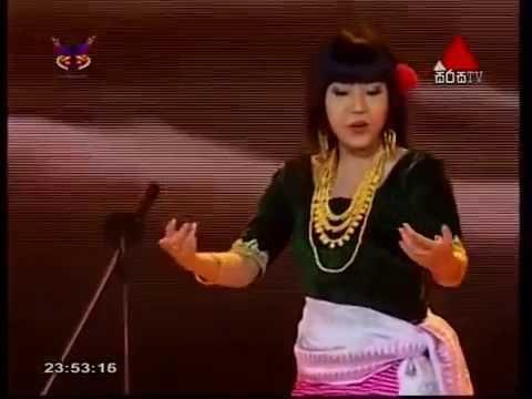 Mangka Mayanglambam performance at Colombo