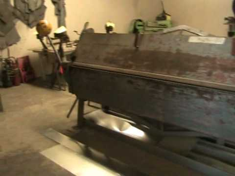 Sheet Metal Shop Shear Brake Tools A/C Furnace Equipment Trucks, Vans  For Sale