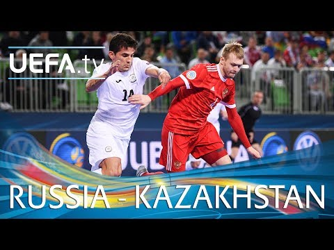 Futsal EURO highlights: Third-place play-off: Russia v Kazakhstan
