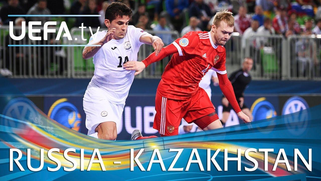 0382e773807f4 Futsal EURO highlights  Third-place play-off  Russia v Kazakhstan ...