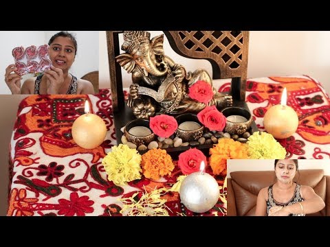 Dhanteras And Diwali Shopping/Preparation - My puja room