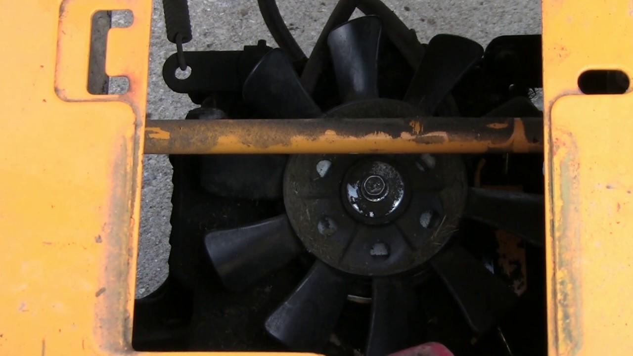 small resolution of cub cadet 1050 drive belt installation