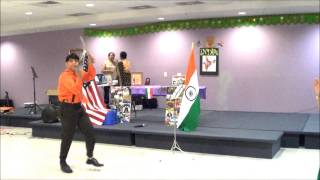 Song & Sword Dance by Ishaan on 69th Independence day of India